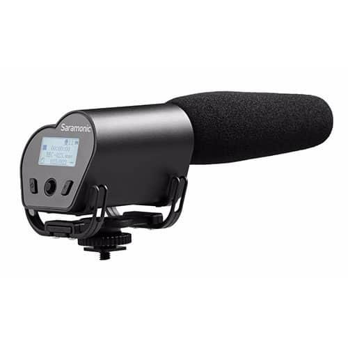 Saramonic Vmic Recorder kondenzátorový shotgun mikrofón s rekordérom pre DSLR