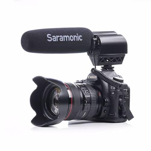 Saramonic Vmic Pro kondenzátorový shotgun mikrofón pre DSLR (výroba ukončená)
