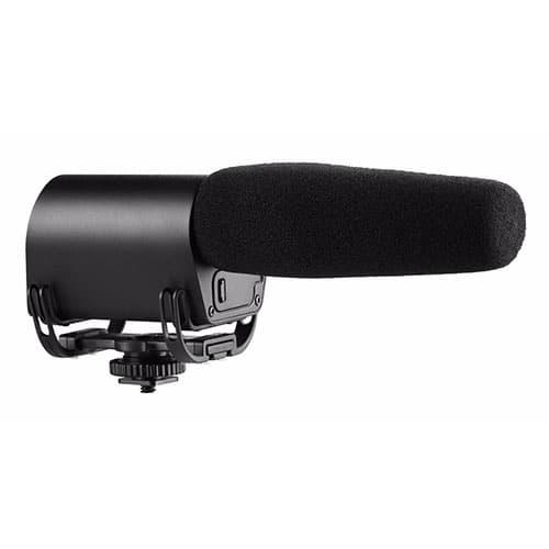 Saramonic Vmic kondenzátorový shotgun mikrofón pre DSLR