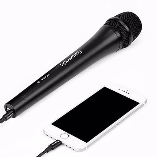 Saramonic SR-HM7 DI dynamický mikrofón (handka) pre iPhone/iPad