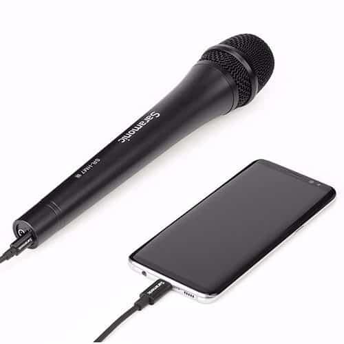 Saramonic SR-HM7 UC dynamický mikrofón (handka) s USB-C