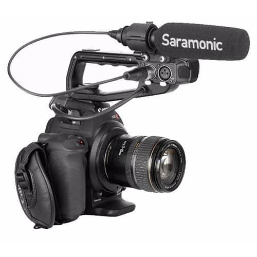 Saramonic SR-NV5X smerový mikrofón s pevným XLR káblom