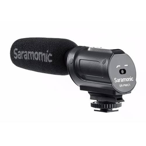 Saramonic SR-PMIC1 kondenzátorový shotgun mikrofón pre DSLR