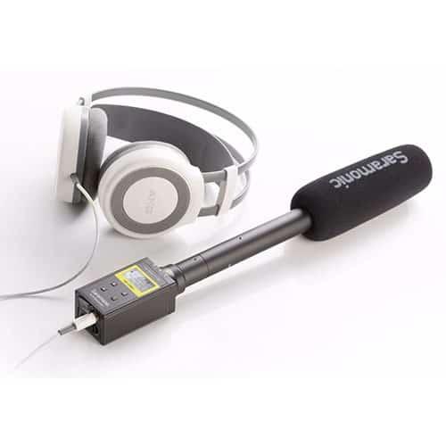 Saramonic SR-VRM1 digitálny linear-PCM rekordér pre XLR mikrofóny