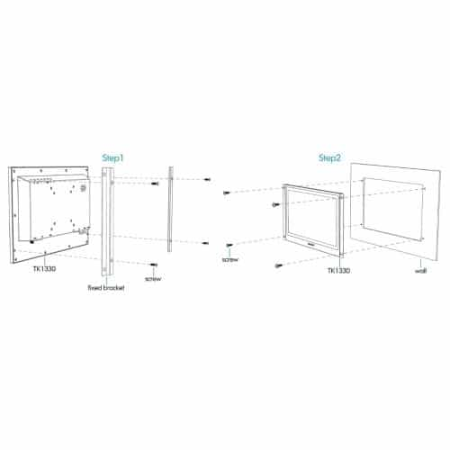 "Lilliput TK1330-NP/C/T 13,3"" dotykový monitor 1920x1080"