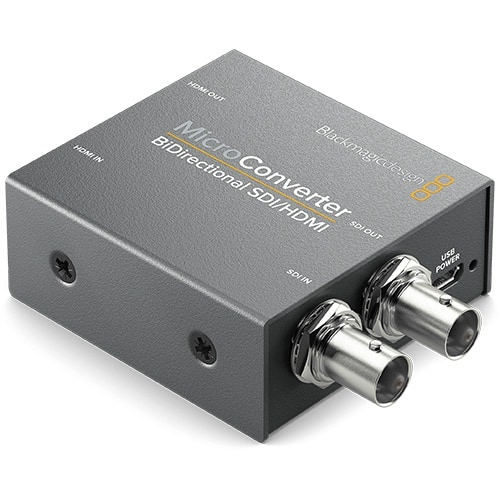 Blackmagic Micro Converter BiDirectional HDMI to SDI, SDI to HDMI so zdrojom