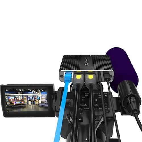 Kiloview N20 4K/UHD NDI obojsmerný prevodník s intercom a PTZ