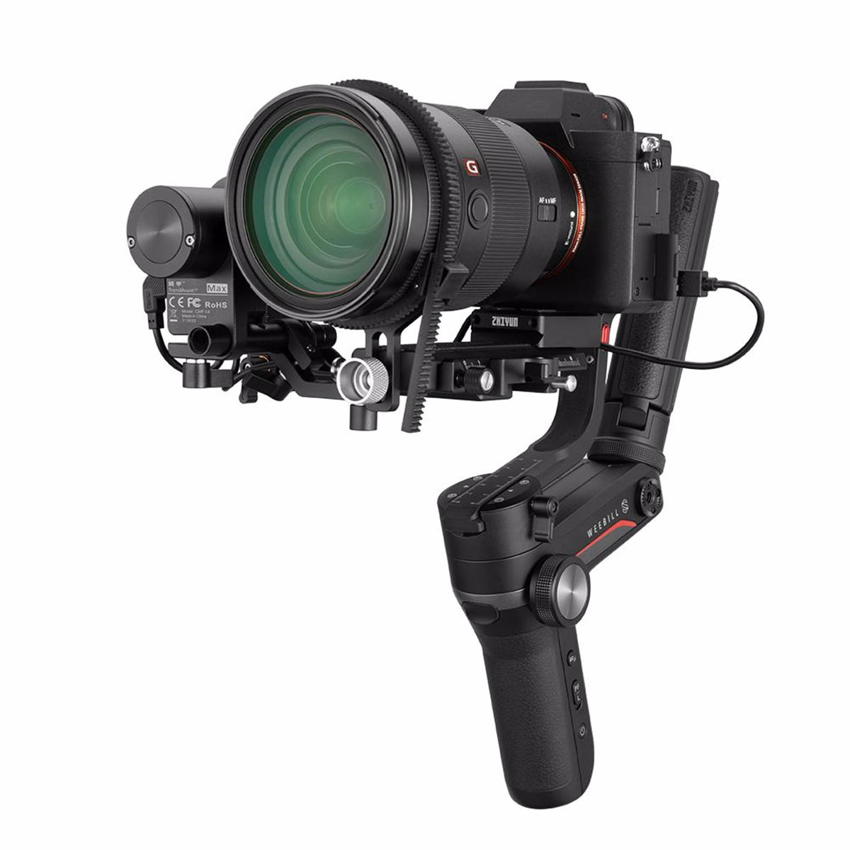 Zhiyun Weebill S elektronický stabilizátor pre mini kamery a DSLR