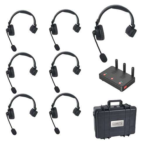 CAME-TV Waero Headset 1+6 KIT bezdrôtový intercom
