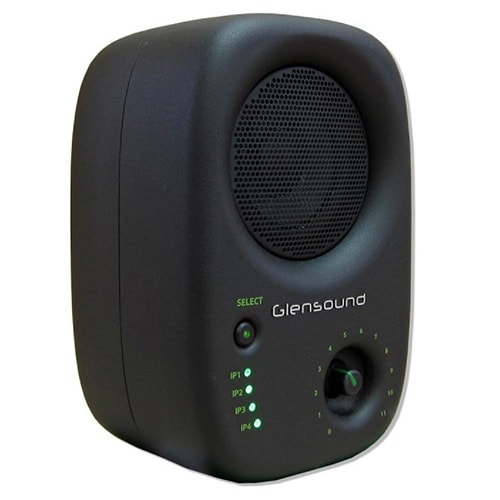 Glensound DIVINE inteligentný Dante audio monitor s PoE