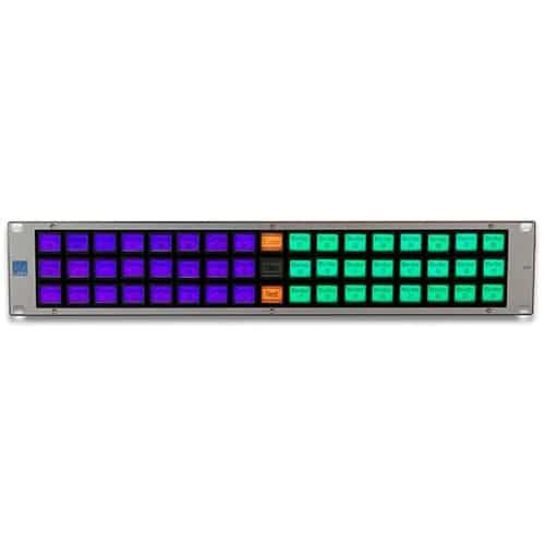 LBP51-PANASNAP Lawo ovládaci pult k video-mixerom Panasonic, 51 tlačidiel, 2U