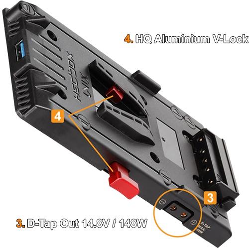 Hedbox UNIX-FW50 V-mount napájací úchyt pre SONY Alpha (FW50)