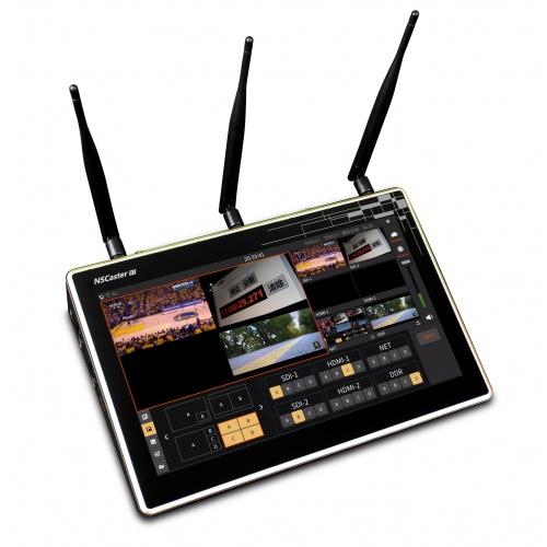 NS Caster X1 6-ch integrovaný vysielací systém