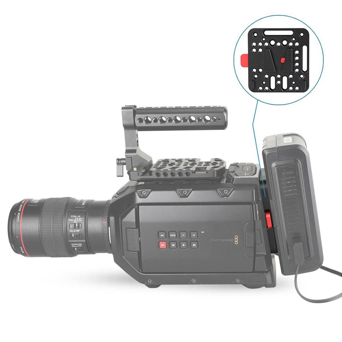 SmallRig V-Lock Assembly KIT v2 (1846B) V-mount úchyt na kamery a stabilizátory