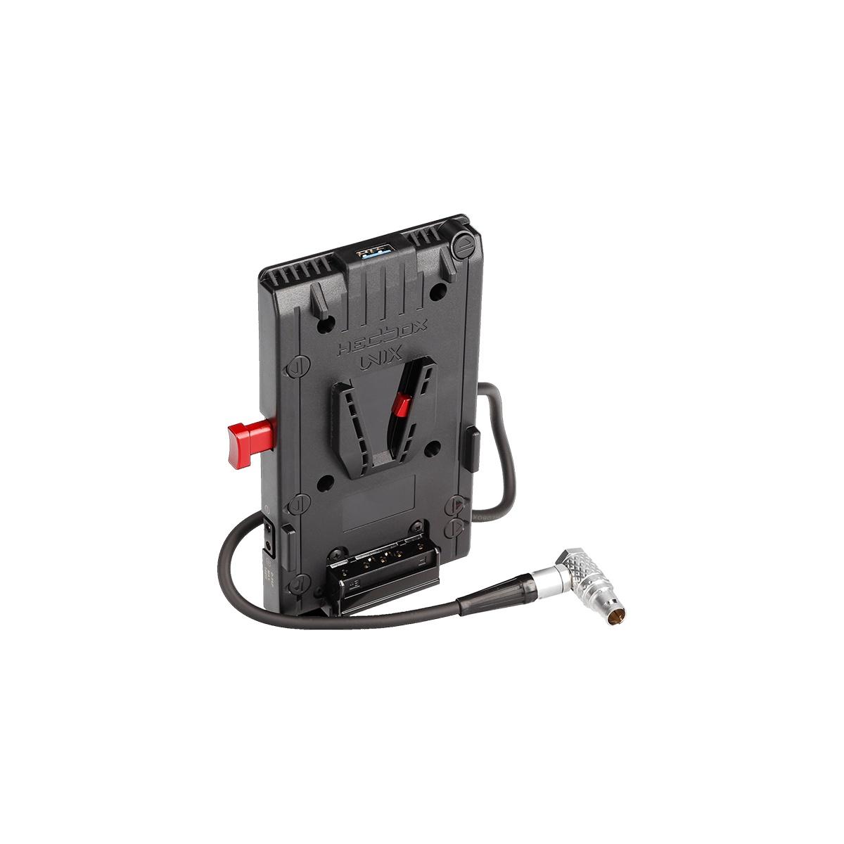 Hedbox UNIX-1BL V-mount napájací úchyt s 2-pin LEMO konektorom (FHG.1B.302)