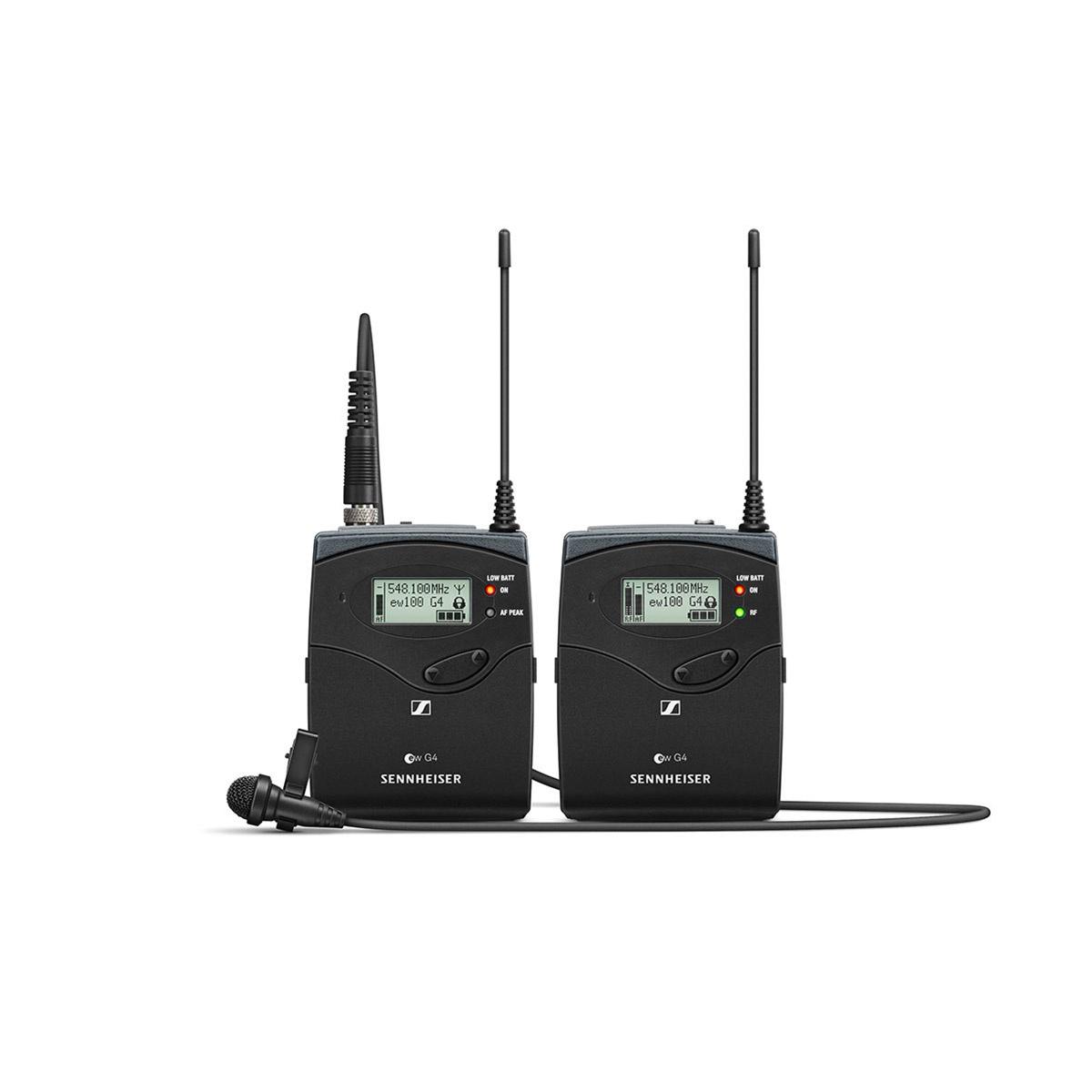 Sennheiser ew 122P G4 (470 - 516 MHz) bezdrôtový mikrofónny set s klopovým mikrofónom