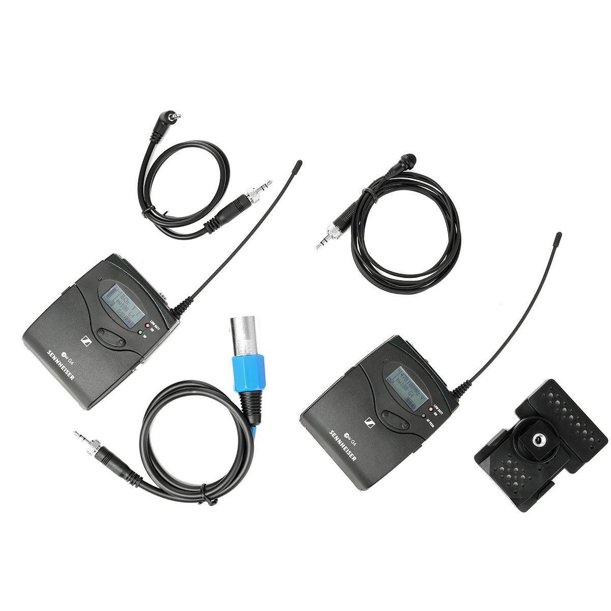 Sennheiser ew 122P G4 (626 - 668 MHz) bezdrôtový mikrofónny set s klopovým mikrofónom