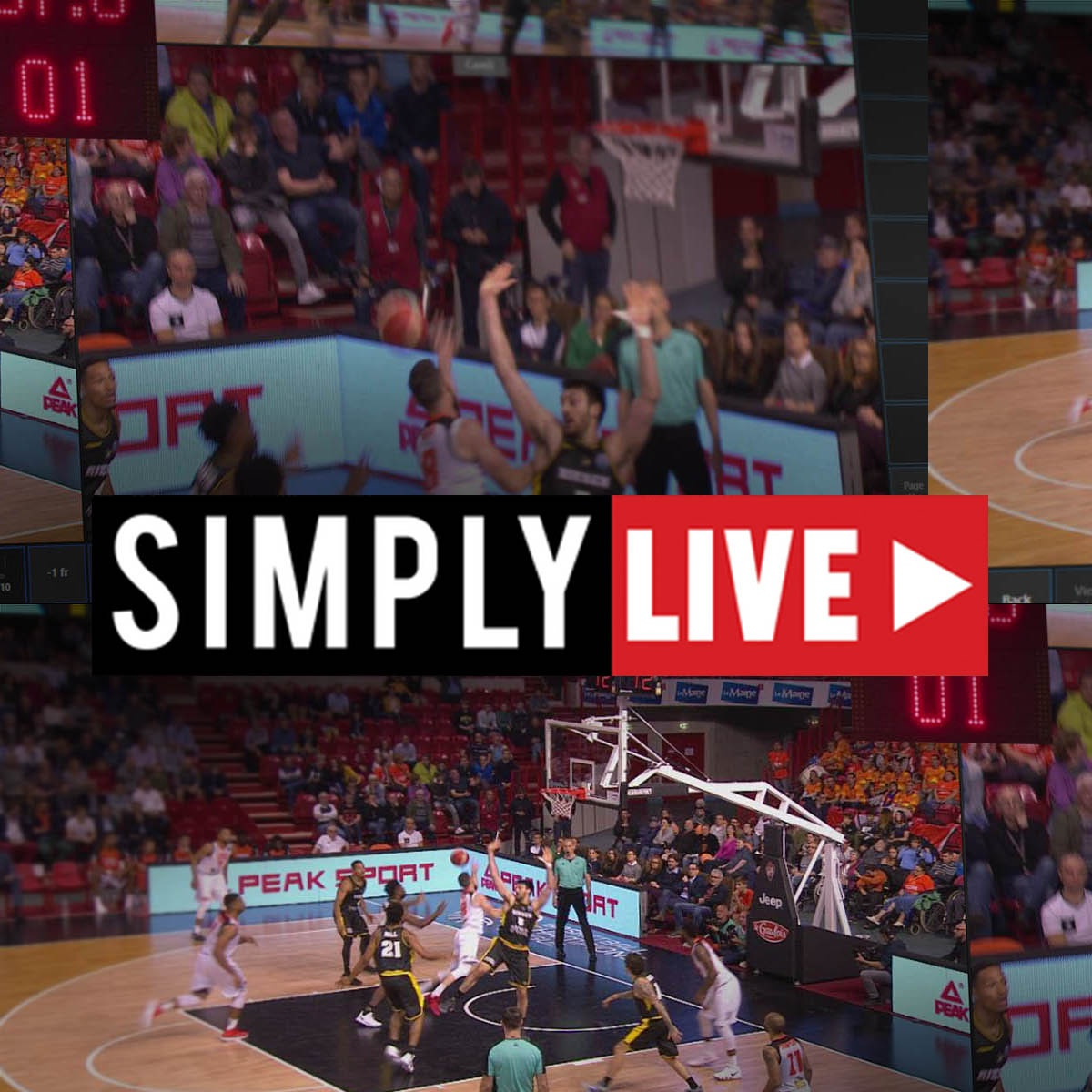 SIMPLYLIVE RefBox Video Referee & Coach (systém VAR)