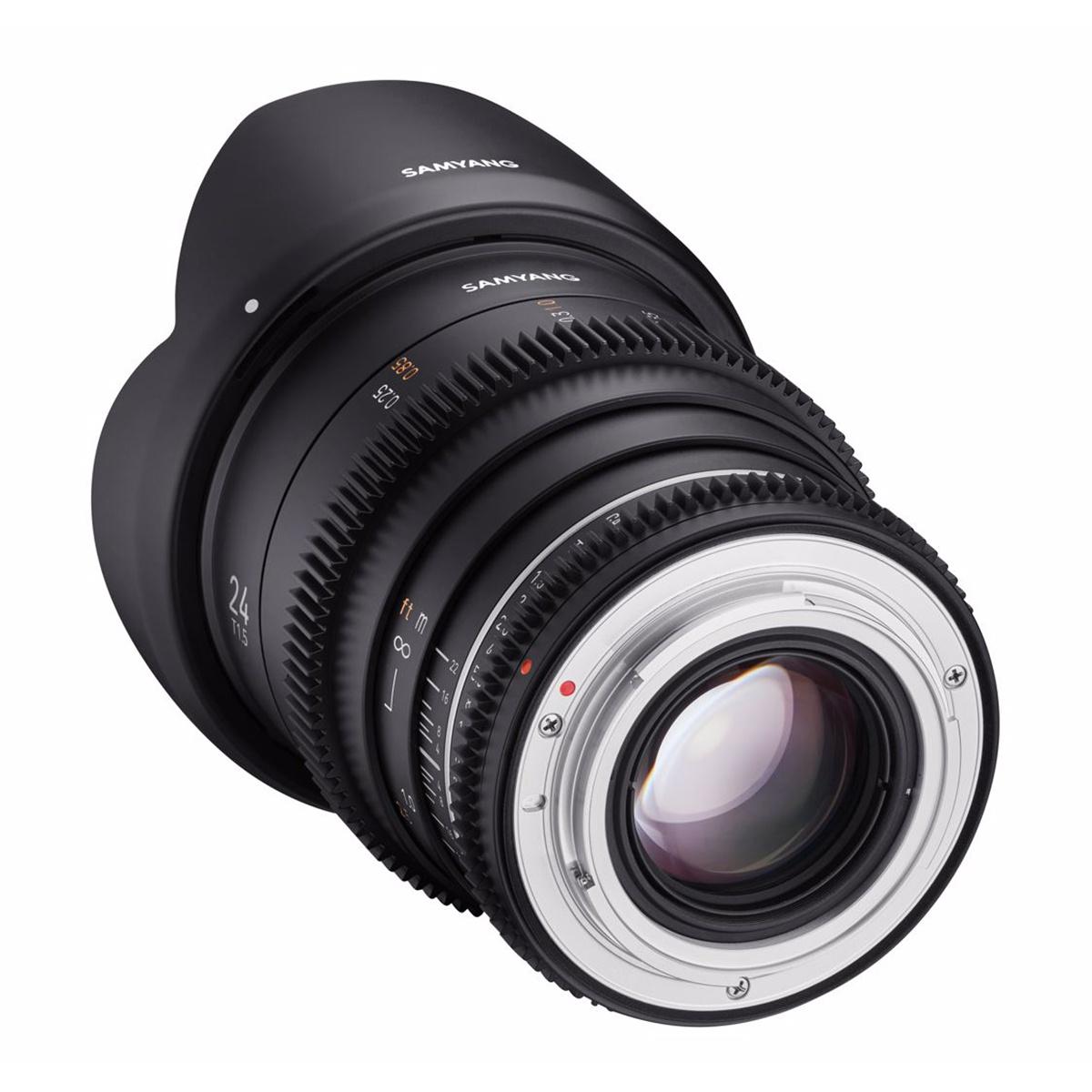 SAMYANG 24mm T1.5 VDSLR MK2 Sony E