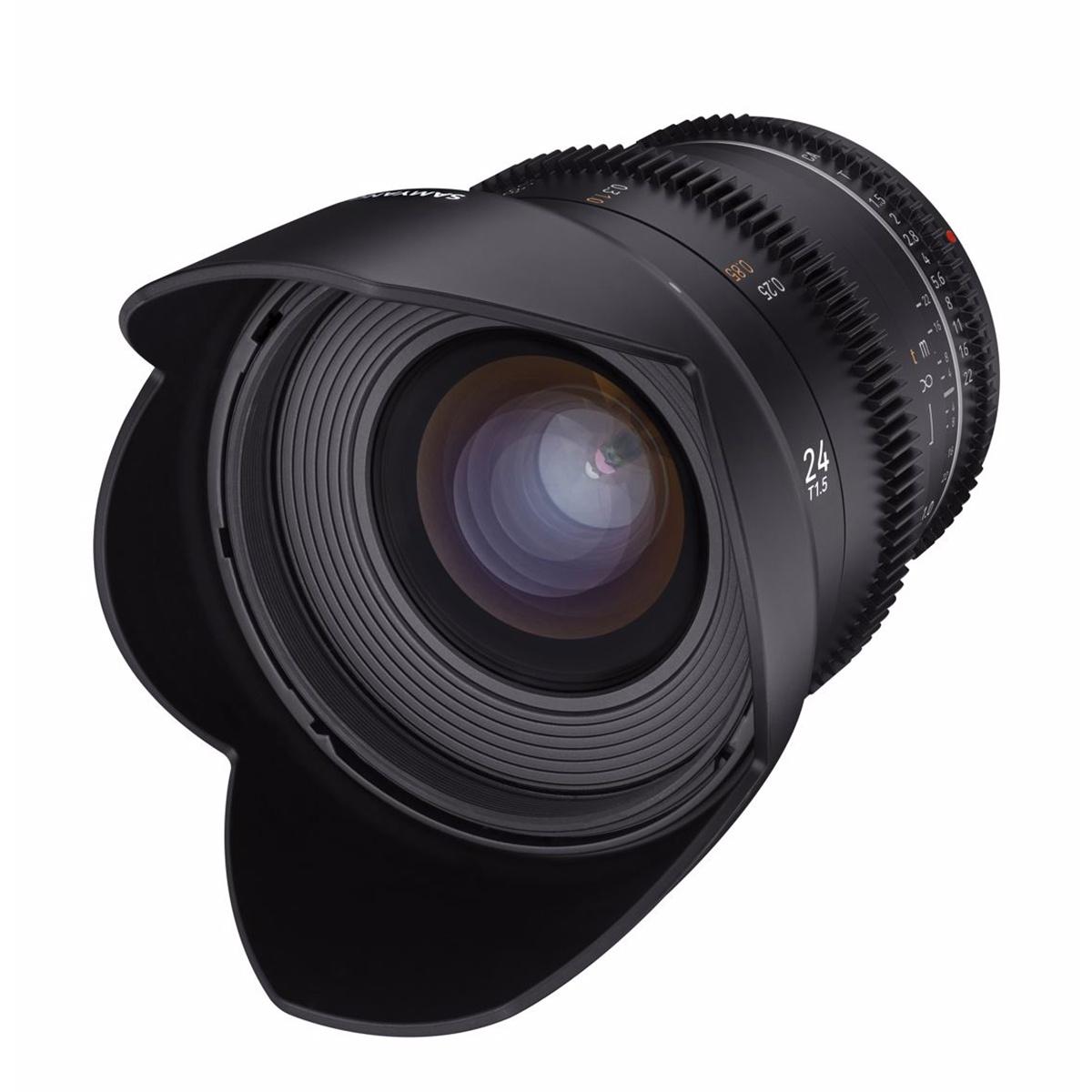 SAMYANG 24mm T1.5 VDSLR MK2 Canon M
