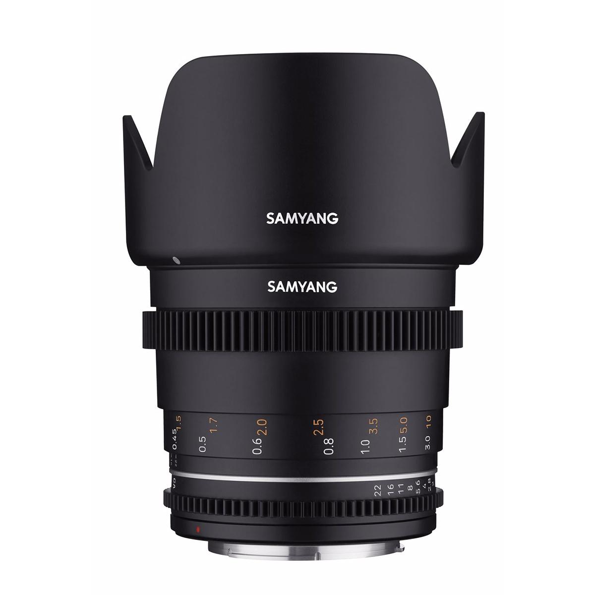 SAMYANG 50mm T1.5 VDSLR MK2 Nikon F