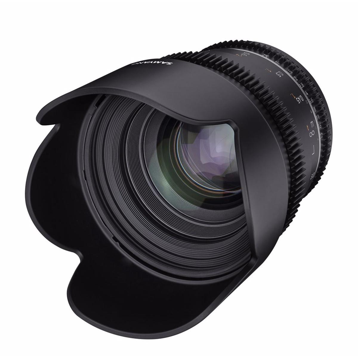 SAMYANG 50mm T1.5 VDSLR MK2 MFT