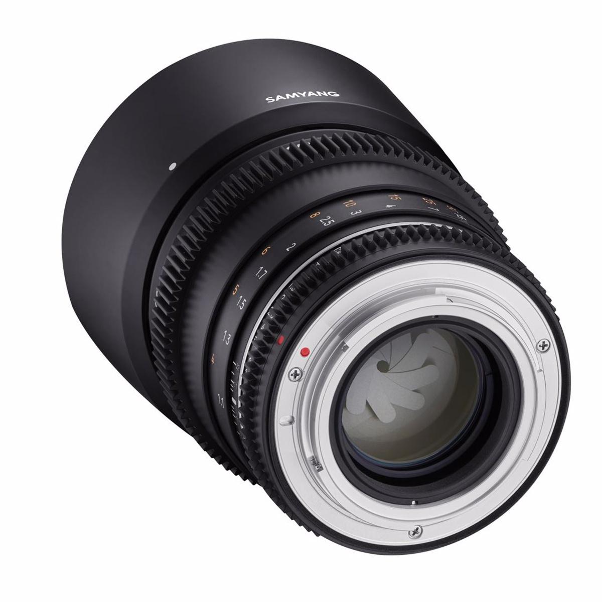 SAMYANG 85mm T1.5 VDSLR MK2 Sony E