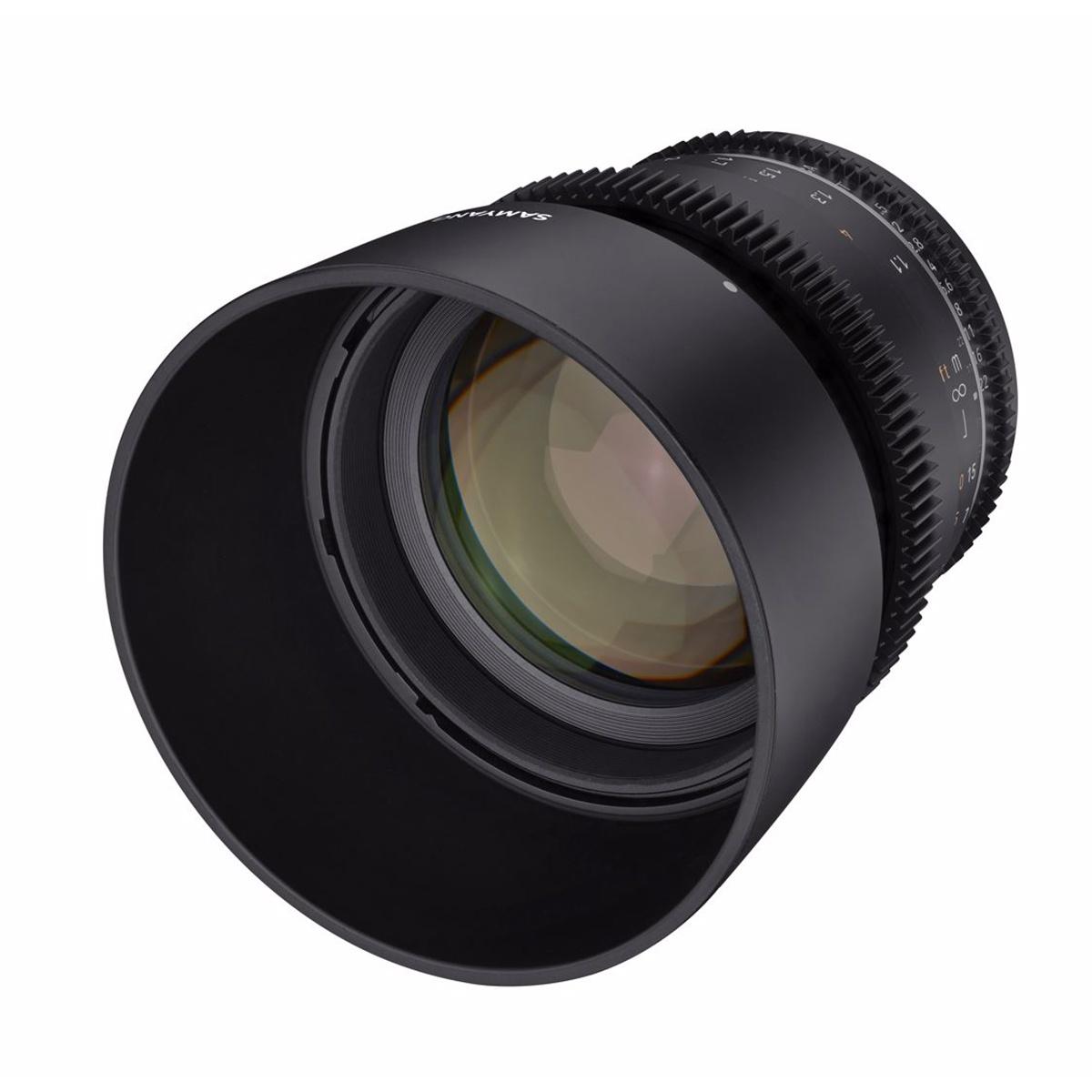 SAMYANG 85mm T1.5 VDSLR MK2 Canon RF