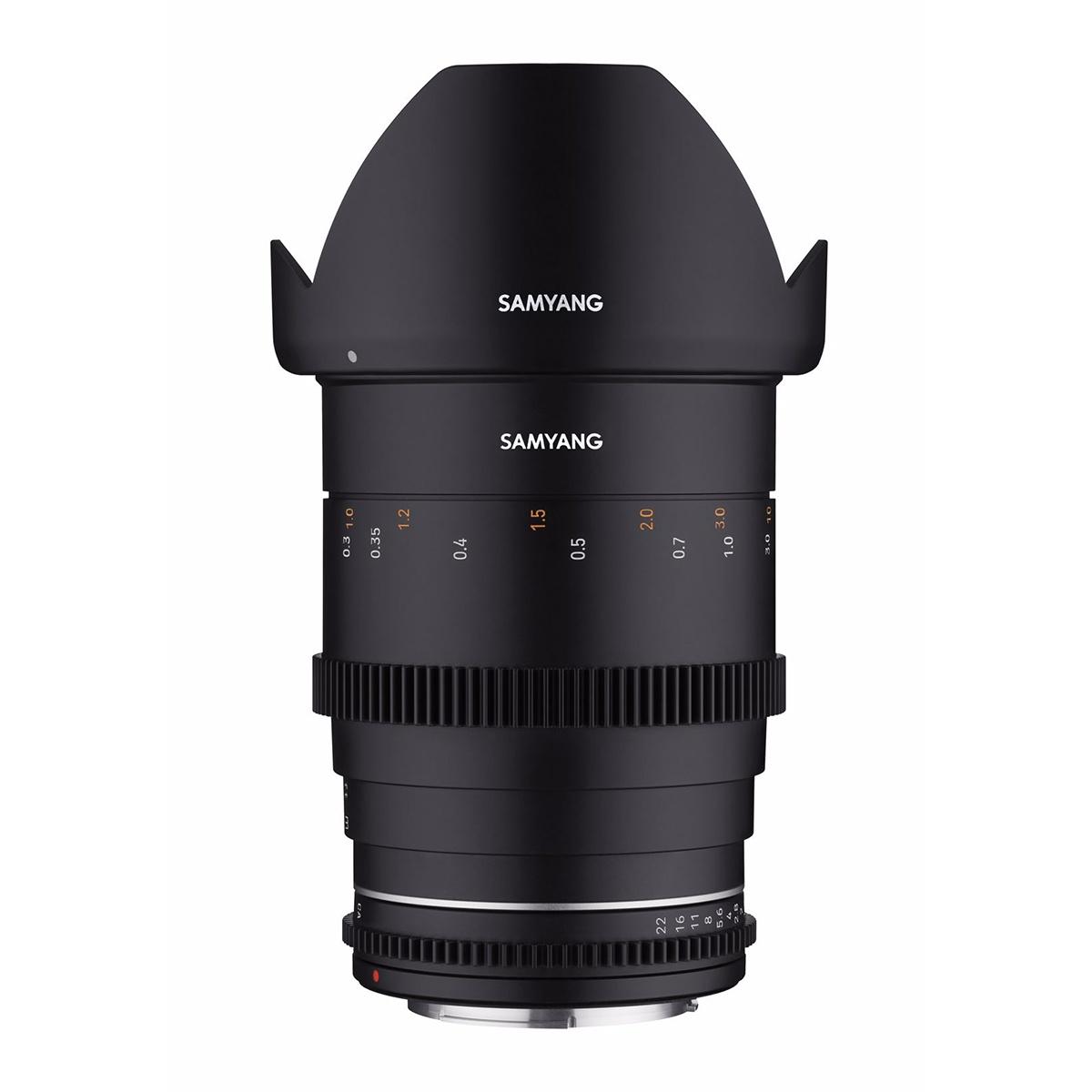 SAMYANG 35mm T1.5 VDSLR MK2 Canon EF