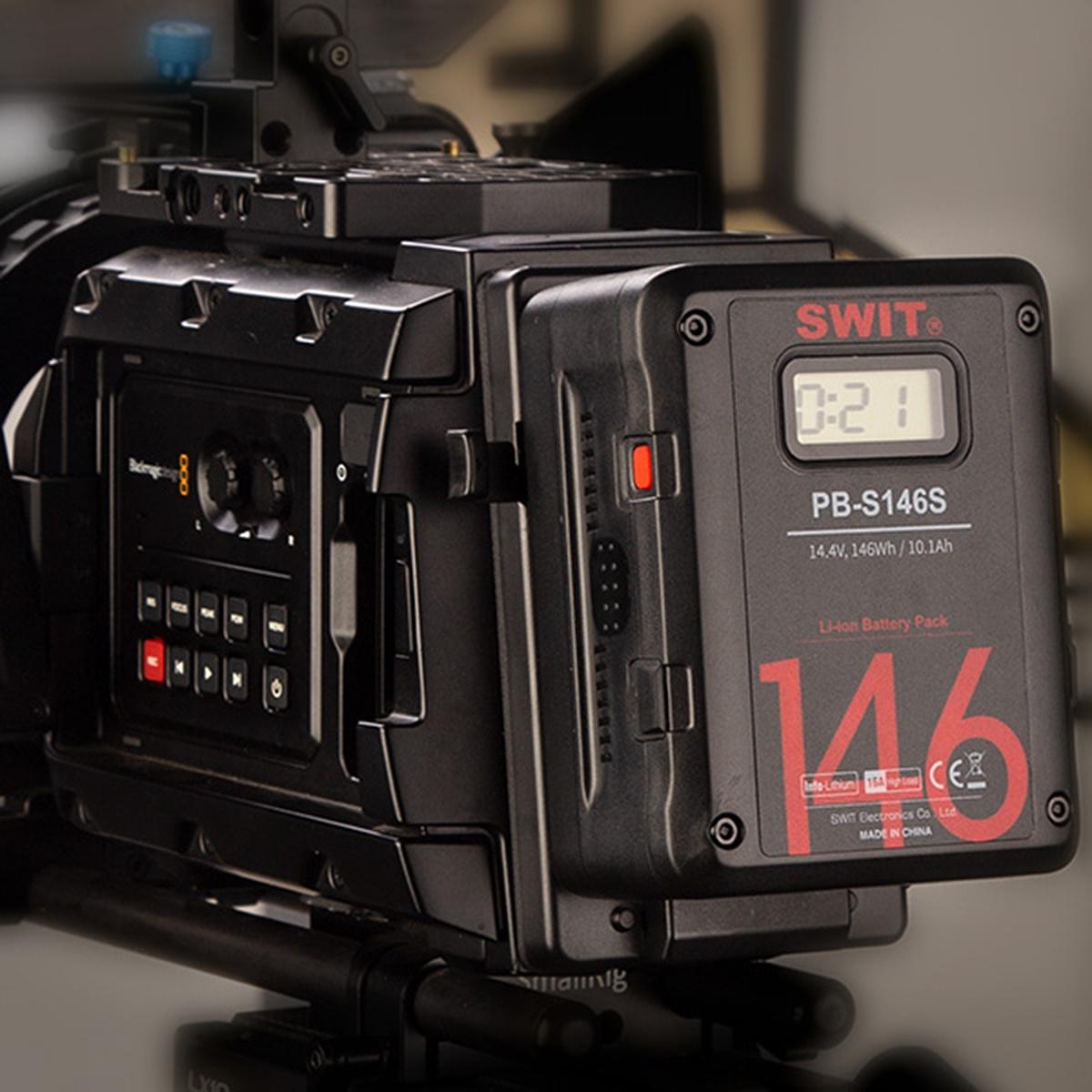 SWIT PB-S146S CINEMA V-Mount batéria s 2x D-TAP